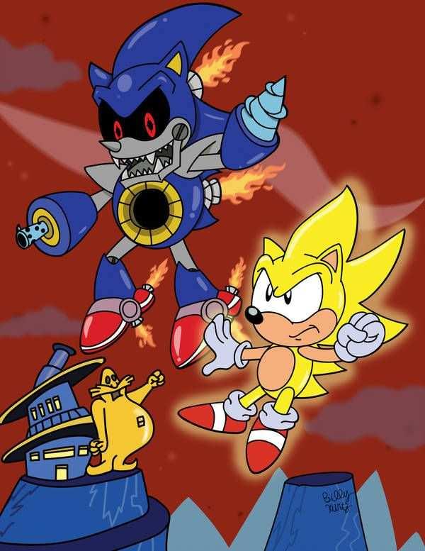 Super Sonic Vs Death Metal By Https Www Deviantart Com Slysonic