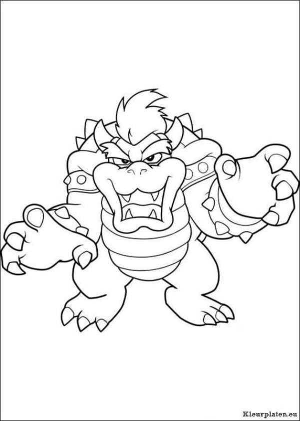 Super Mario Bros Kleurplaat 764167 Kleurplaat Met Afbeeldingen