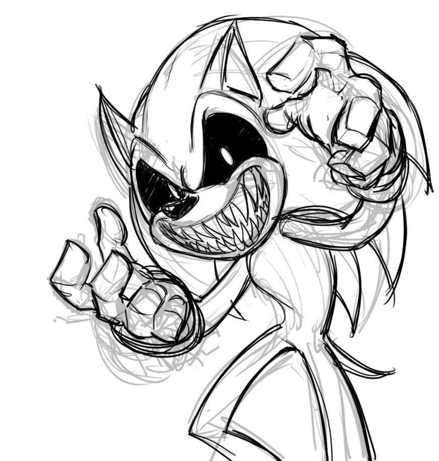 Sonic Exe By Mickeymonster Met Afbeeldingen Tekenen