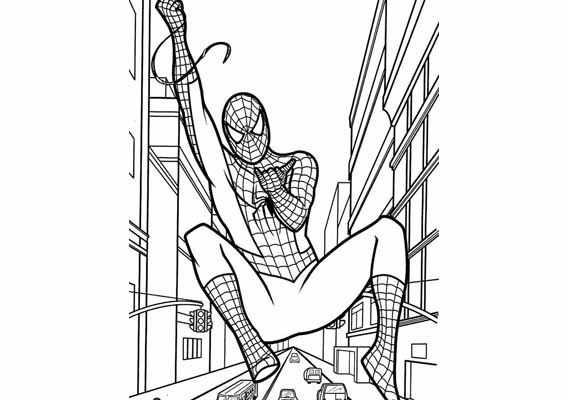 Spiderman Kleurplaat Google Zoeken Kleurplaten