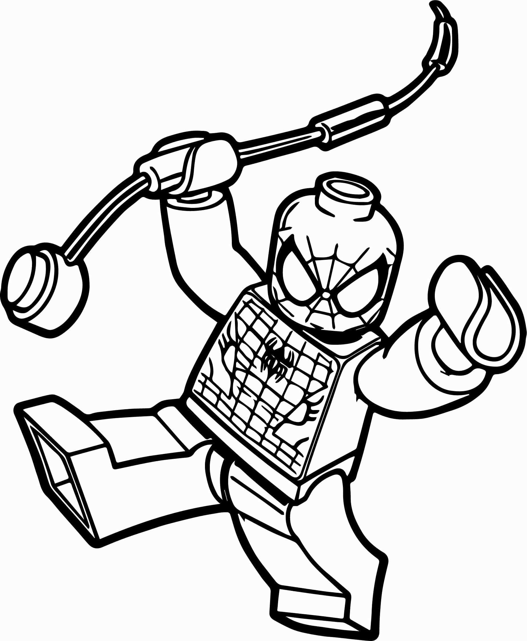 28 Lego Spiderman Coloring Page In 2020 Spiderman Coloring