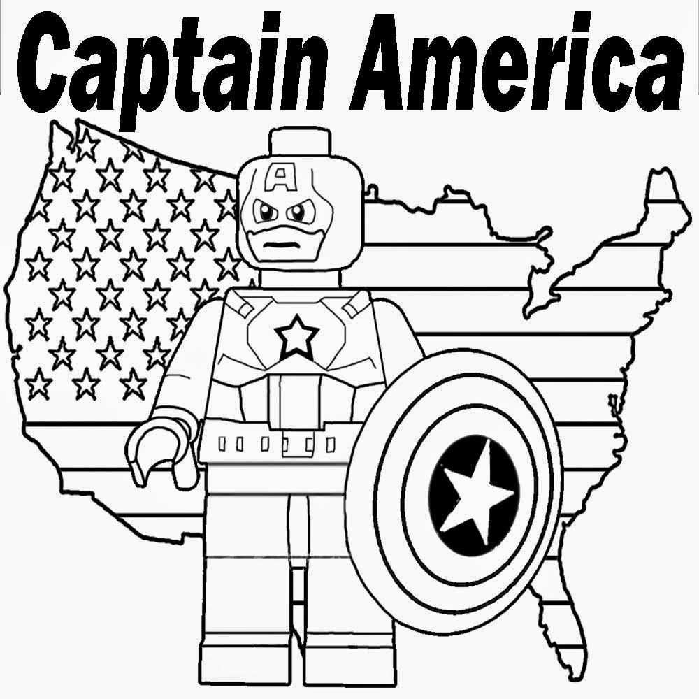Lego Marvel Superheroes Coloring Pages With Images Superhero