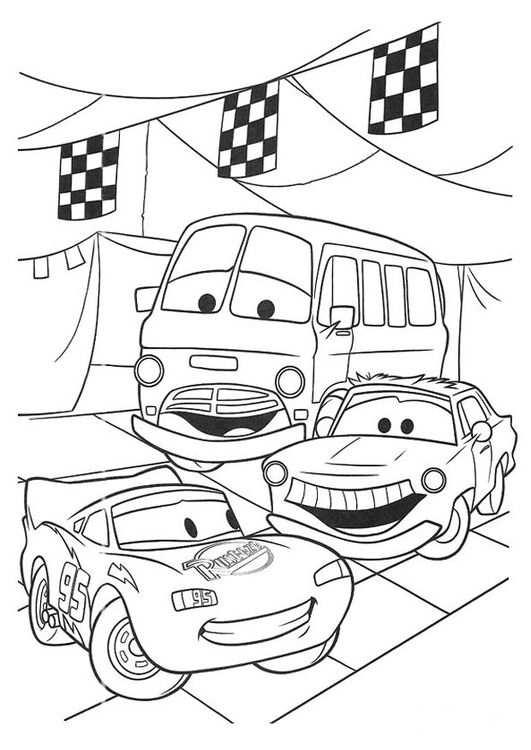 Coloring Page Cars Kleurplaten Gratis Kleurplaten Disney