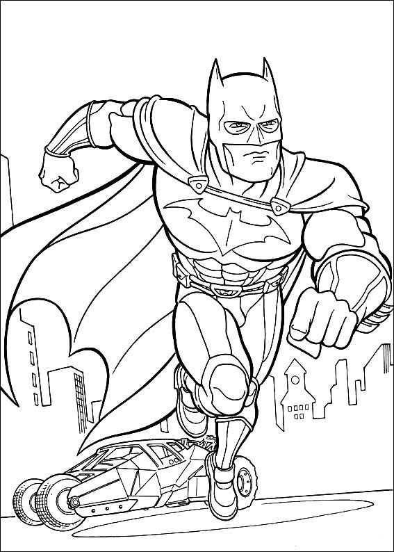 Kleurplaten Batman 24 Superhelden Malvorlagen Ausmalbilder