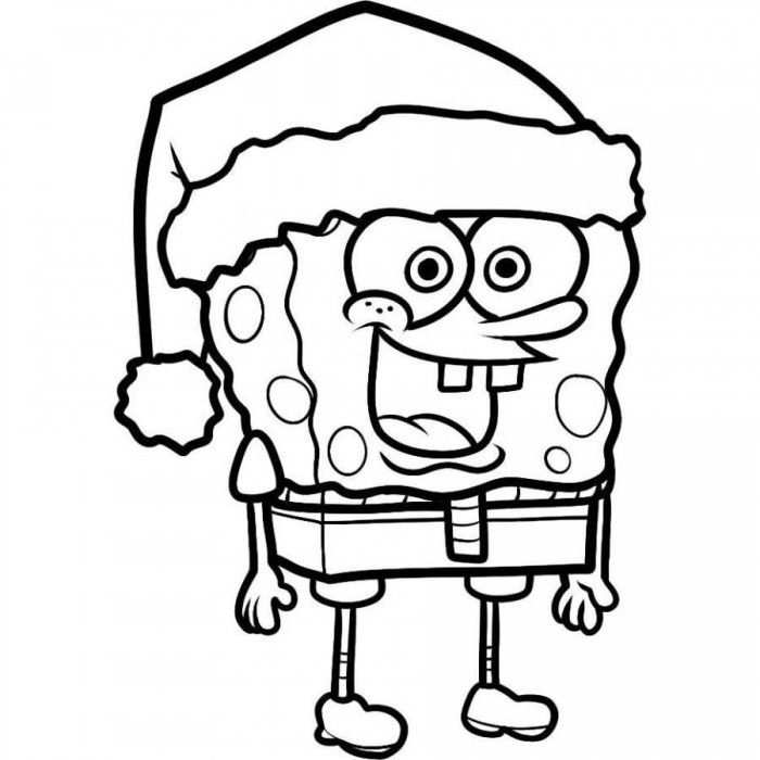 Free Printable Spongebob Squarepants Coloring Pages For Kids Met