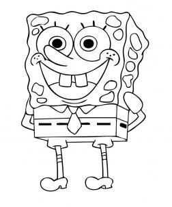 How To Draw Spongebob Kleurplaten Tekenen