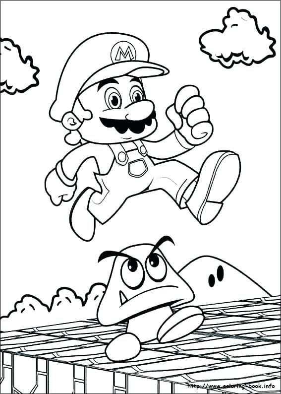 Super Mario Coloring Page Elegant Images Mario Odyssey Coloring
