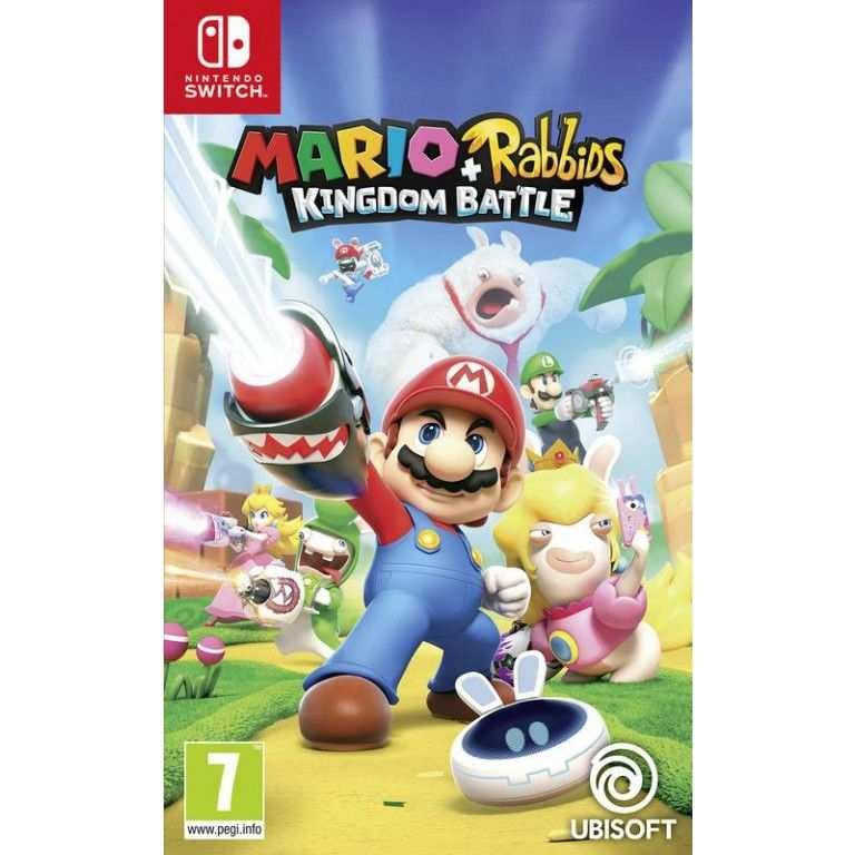 Nintendo Switch Mario Rabbids Kingdom Battle In 2020 Nintendo