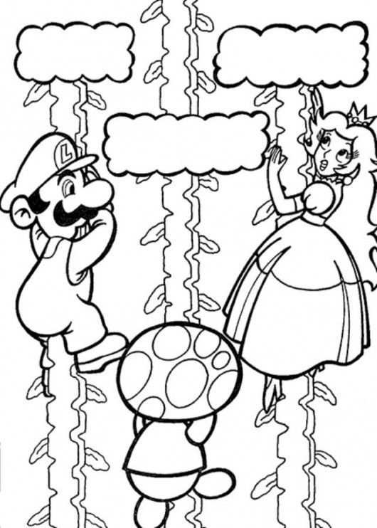 Coloriage Super Mario Coloring Pages Princess Coloring Pages