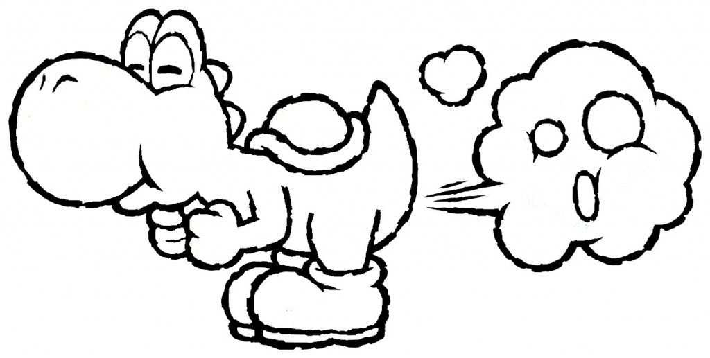 Free Printable Yoshi Coloring Pages For Kids Wenn Du Mal Buch