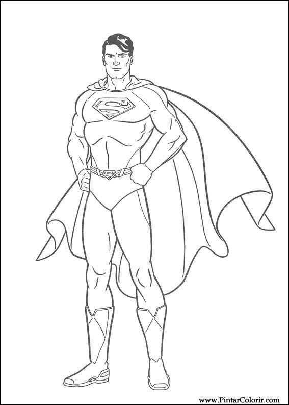 Superman Tekenen Google Zoeken Superman Kleurplaten Superhelden