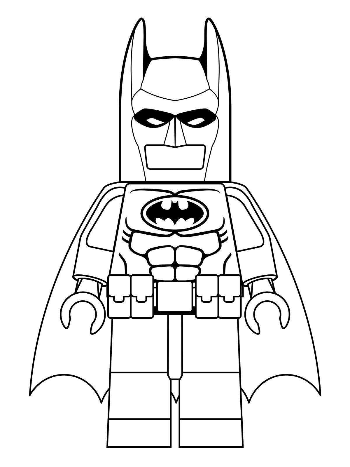 Coloring Page Lego Batman Movie Batman Movie Kleurplaten Lego