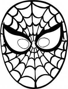 Masker Spiderman 229x300 Leuke Maskers Maken Maskers Superheld