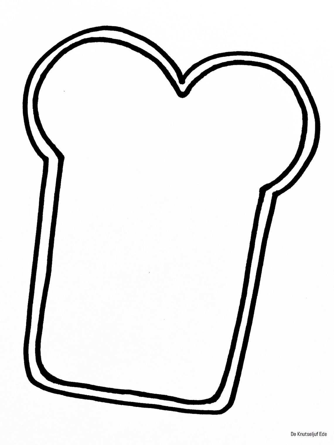 Kleurplaten Thema Bakker Met Afbeeldingen Knutselen Thema Eten