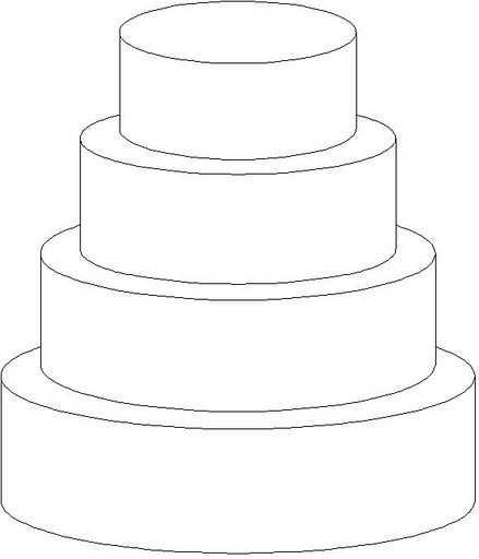 Cake Template Verjaardagskalender