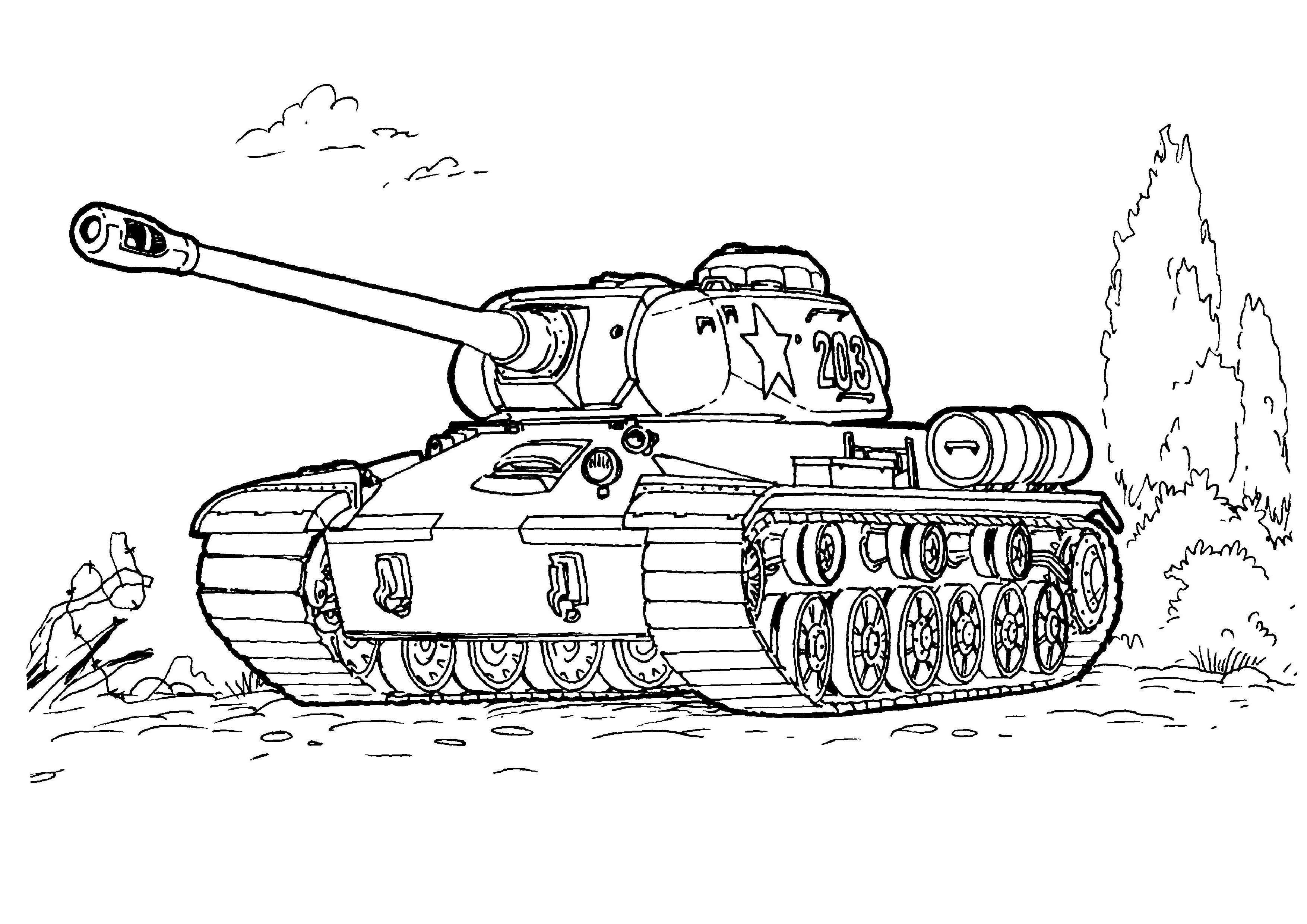 Army Tank Coloring Pages 4 Kleurplaten Tank Soldaat