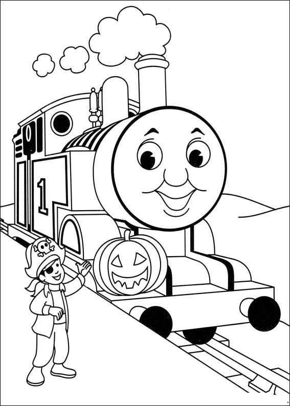 Thomas Colouring Pages Thomas And Friends Coloring For Kids