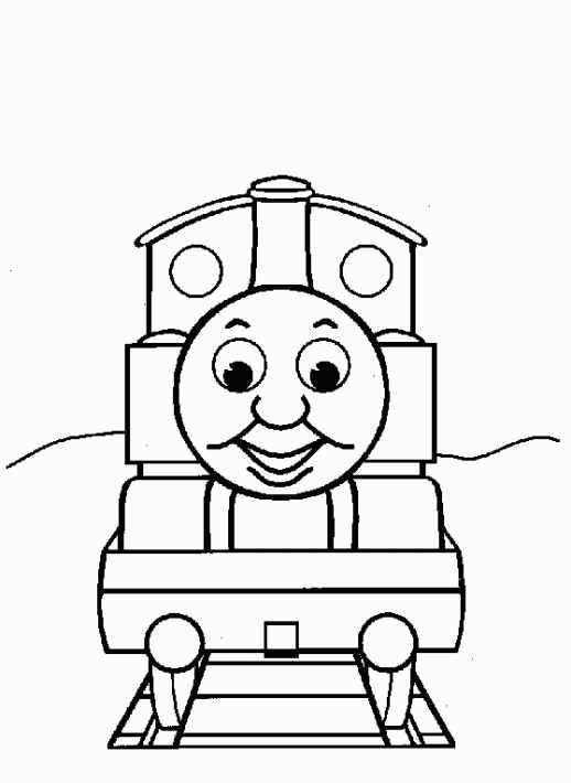 Thomas The Train Coloring Pages Printable For Free Kleurplaten