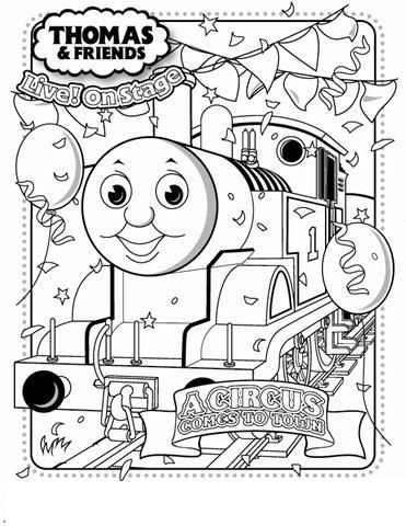 Thomas Coloring Page Kleurplaten Thomas De Trein Voor Kinderen