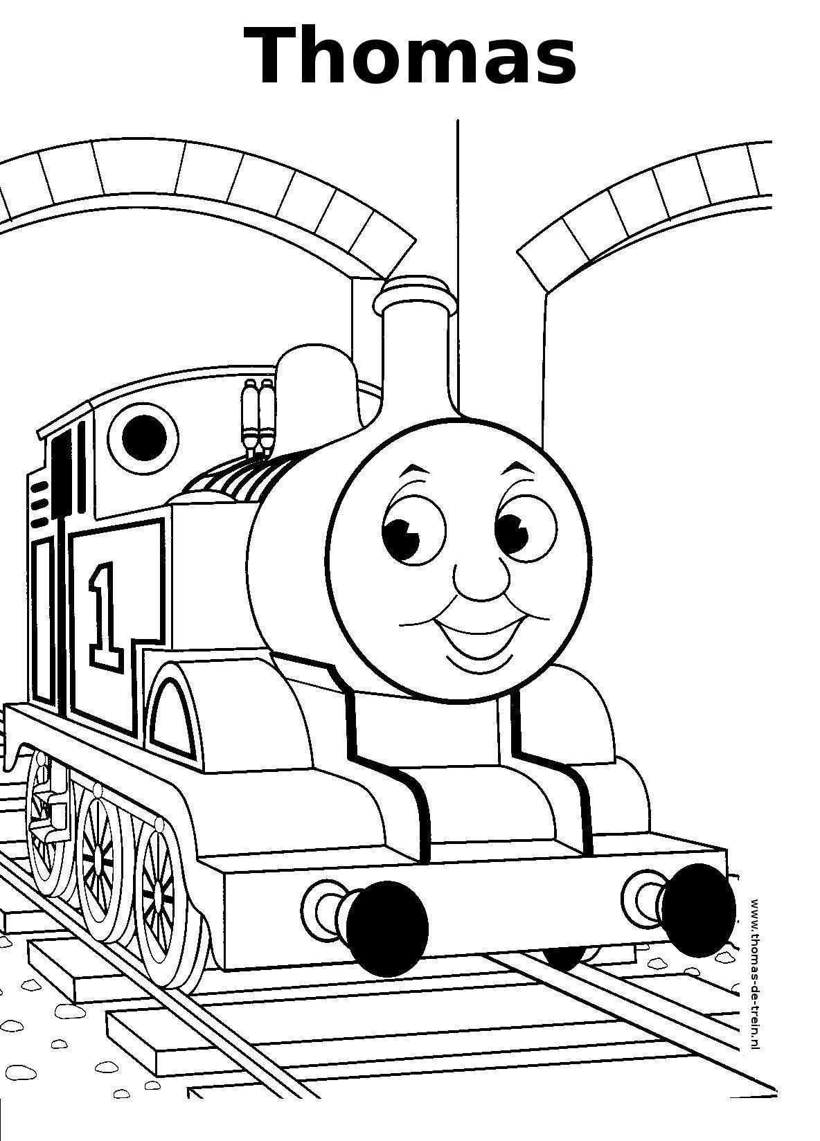 Free Printable Train Coloring Pages For Kids Kleurplaten Thomas