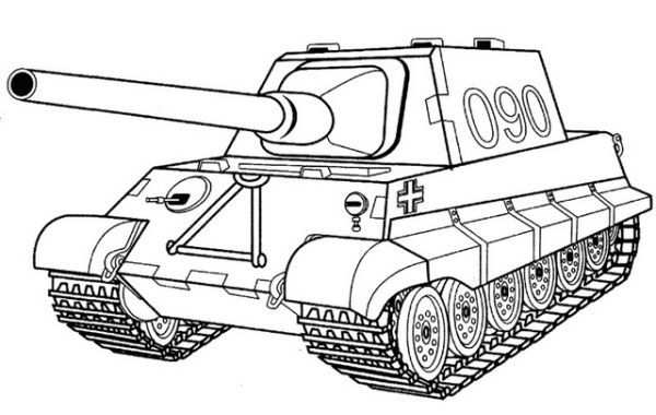 Battle Tank Coloring Pages Printable With Images Coloring