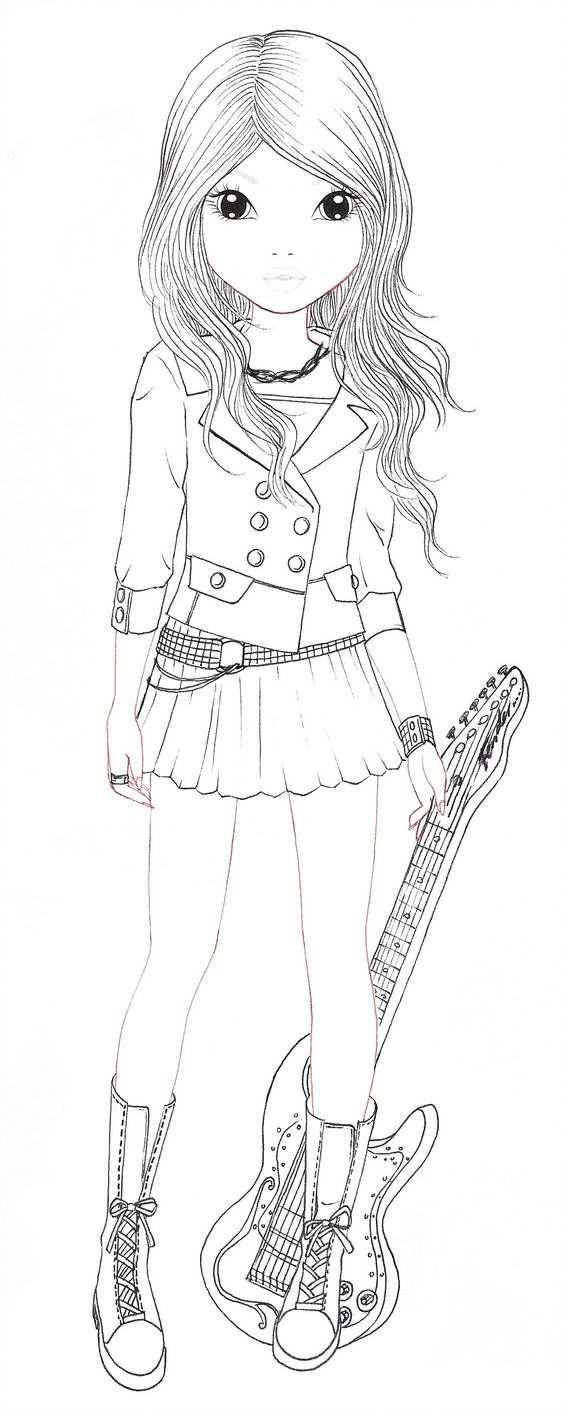 Avril Blanc By Aya Ichigo Mit Bildern Topmodel Ausmalbilder