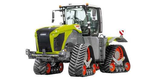 Mewarna08 Kleurplaat Tractor Claas