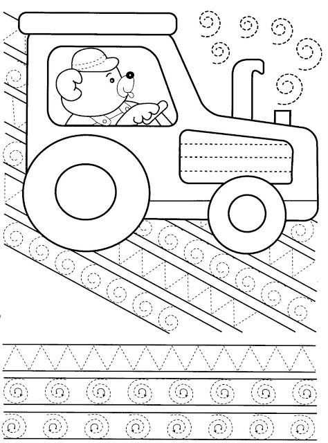 Grafomotorika With Images Preschool Writing Tracing