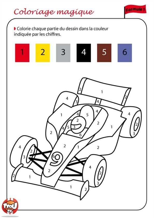 Coloriage Numerote A Colorier Dessin A Imprimer Coloriage