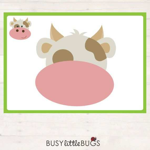 Our Newly Designed On The Farm Playdough Learning Mats Are A Great