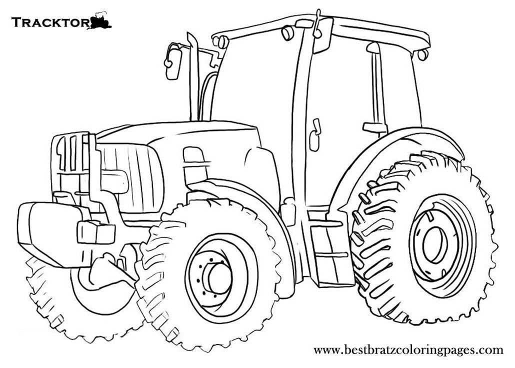 Epingle Par Anwarsidiq Sur A Kendaraan Coloriage Tracteur