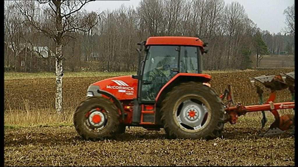 De Tractor En De Ploeg Grote Machines Vervoer Thema Vervoer