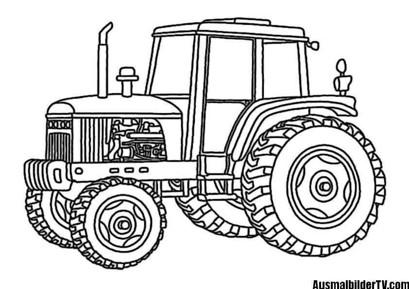 Traktor Ausmalbilder Ausmalbilder Malvorlagen Kinder Basteln