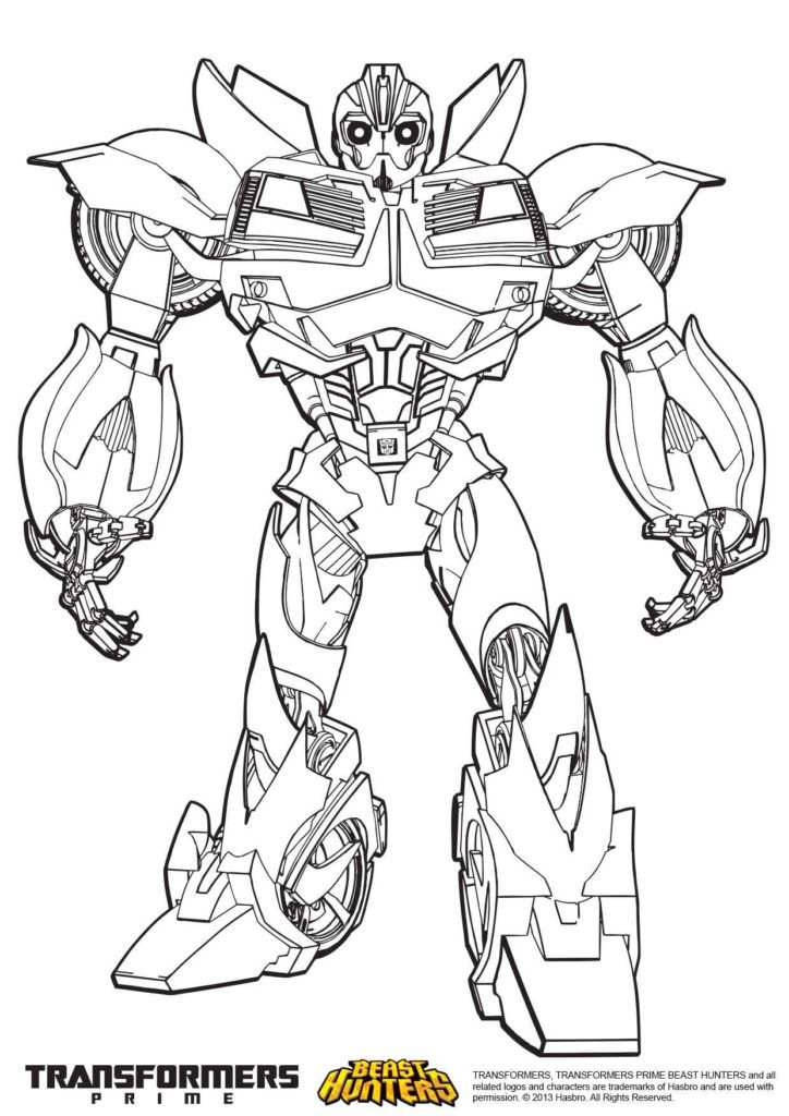 Transformers Coloring Pages Bee Coloring Pages Superhero