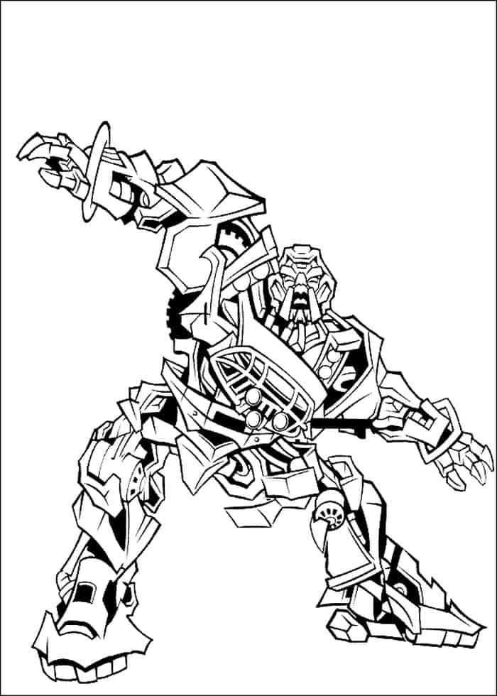 Coloring Page Transformers Transformers Transformers Coloring