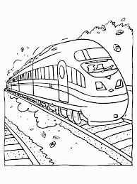 Tekening Trein Beste Van Kleurplaat Trein A4 Archidev Kleurplaat