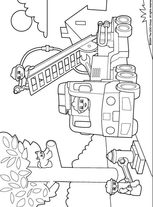 Coloring Page Lego Duplo Lego Duplo With Images Lego Coloring