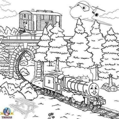 Thomas Train Coloring Pages Christmas Kleurplaten Handlettering