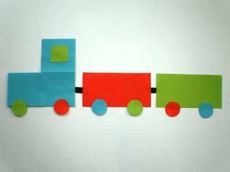 Trein Vouwen Met Afbeeldingen Knutselen Thema Verkeer Vervoer