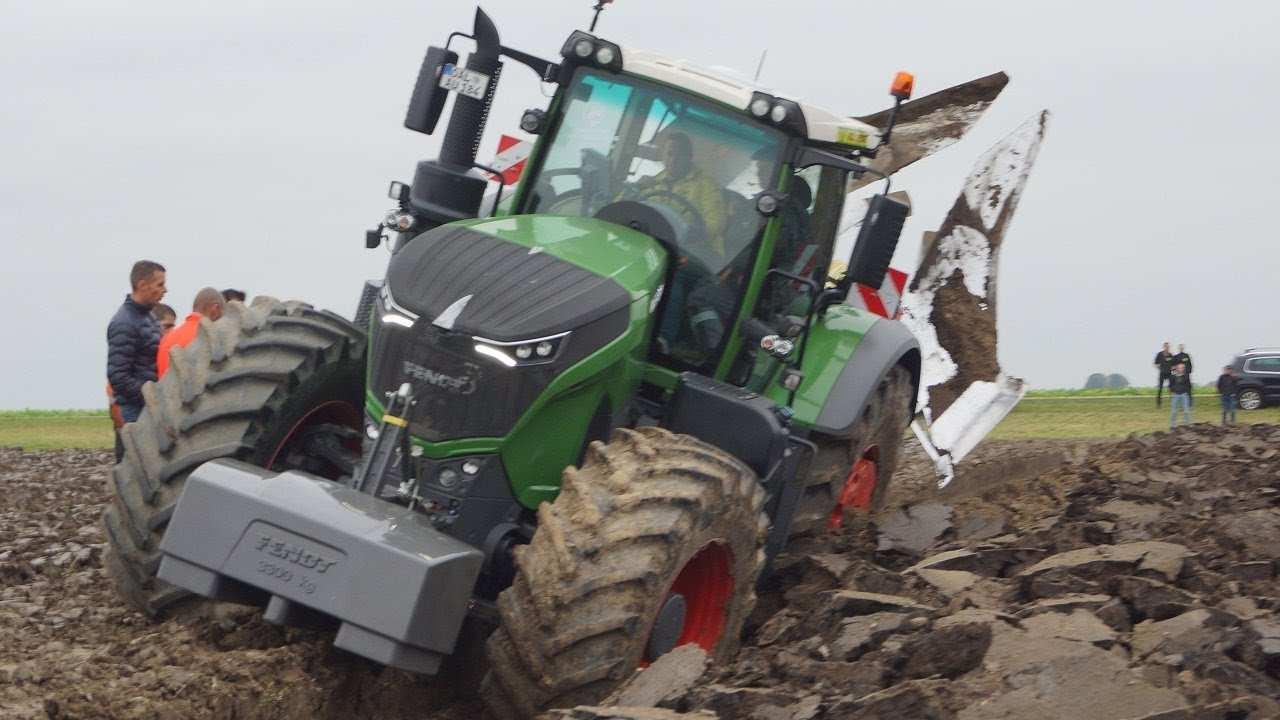 Fendt 1050 Vario Diepploegen Bij Van Werven Deep Ploughing
