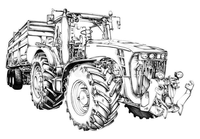 Tractor Kleurplaat Fendt