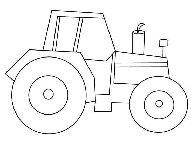 25 Best Tractor Coloring Pages To Print With Images Tractor
