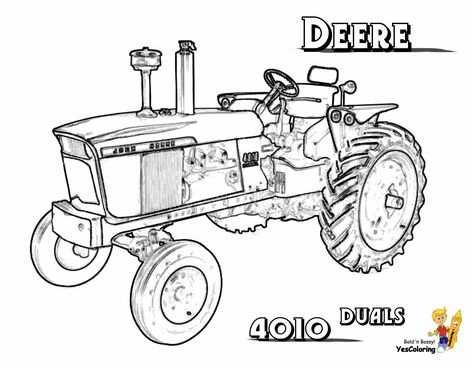Pin Van Corrie Froklage Op Trekkers In 2020 Tractor Kleurplaten
