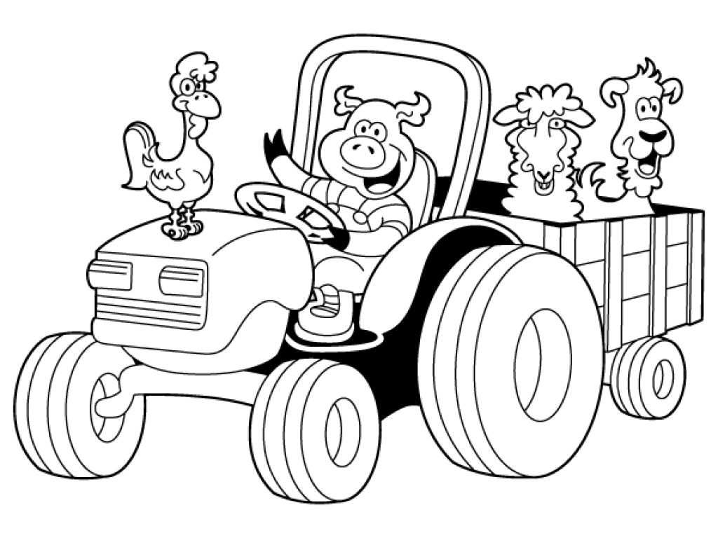 Tractor For Coloring Google Search Tractor Coloring Pages