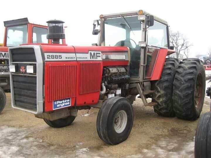 Mf 2885 Tractors Ford Tractors Massey Ferguson Tractors