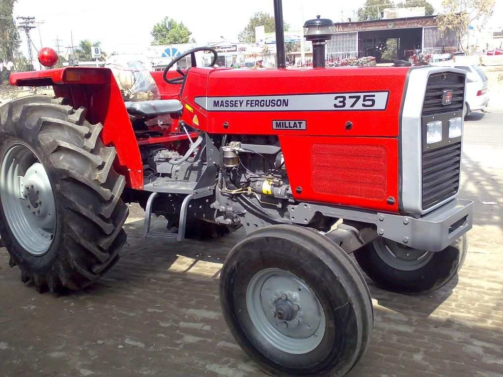 Massey Ferguson 375 Tractors 11400 12000 Tractors Massey