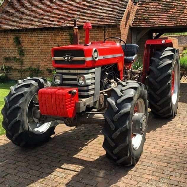 Mf 188 With Images Tractors Vintage Tractors Massey Ferguson