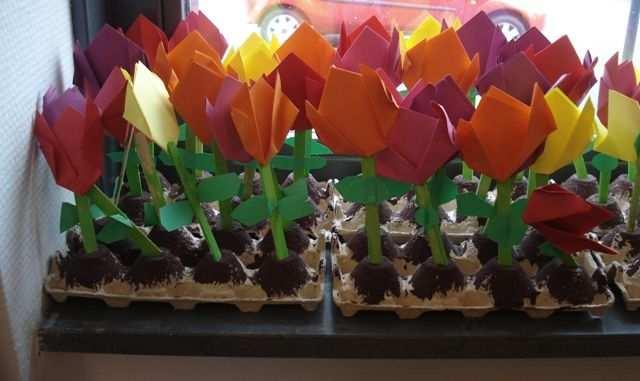 Een Tulpenveld Vouwen Met Afbeeldingen Tulpenvelden Tulpen