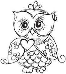Image Result For Schattige Kleurplaten Uiltjes Owl Coloring