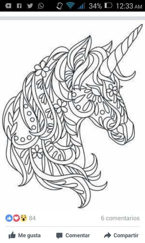 Diy A Stain Glass For Avah With Images Unicorn Coloring Pages